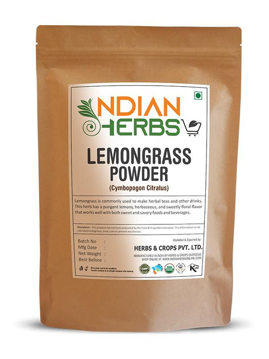 Lemon Grass Powder - Cymbopogon Citratus - 1KG / 2.2 LB ( Value Pack )