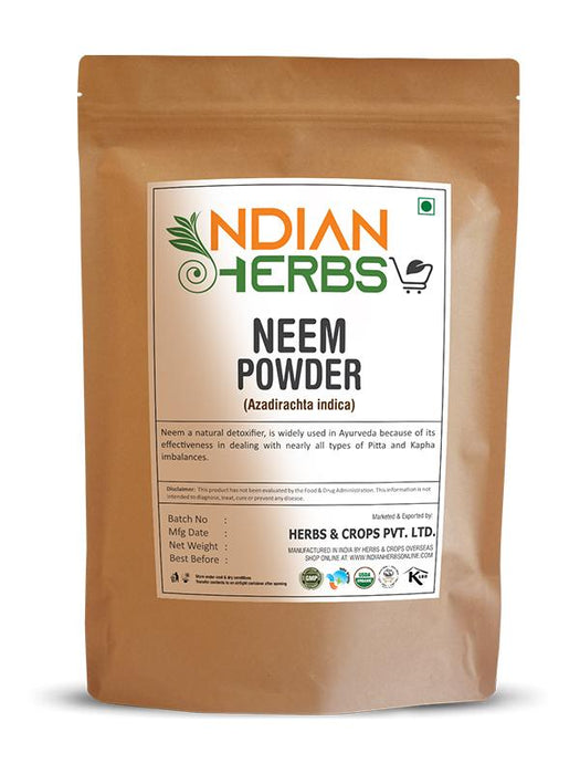 Neem Powder - Azadirachta Indiaca - 1KG / 2.2 LB ( Value Pack )