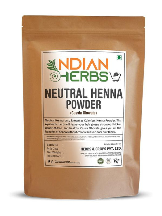 Neutral Henna Powder 1KG / 2.2 LB