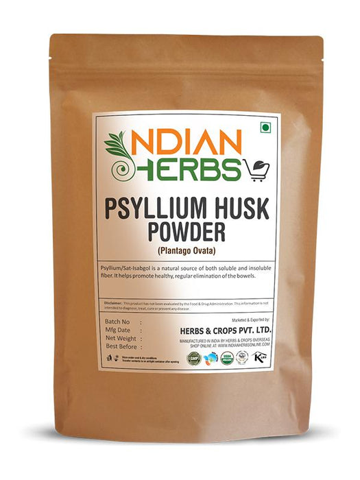 Psyllium Husk Powder - Plantago Ovata - 1KG / 2.2 LB ( Value Pack )