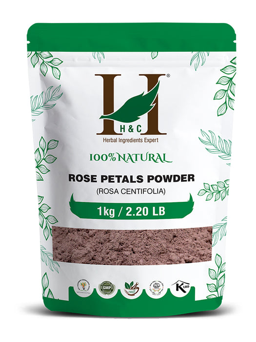 Rose Petals Powder - Rosa Centifolia - 1KG / 2.2 LB ( Value Pack )