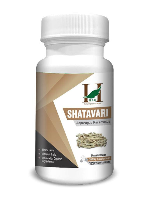 Shatavari Capsules - Dietary Supplements - 450mg (120 Capsules)