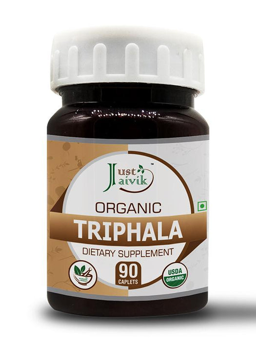 Organic Triphala Tablets 750 mg - Dietary Supplements - (90 Tablets)