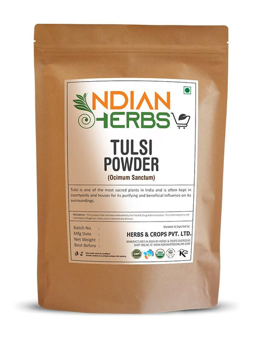 Tulsi Powder - Ocimum Sanctum - 1KG / 2.2 LB ( Value Pack )