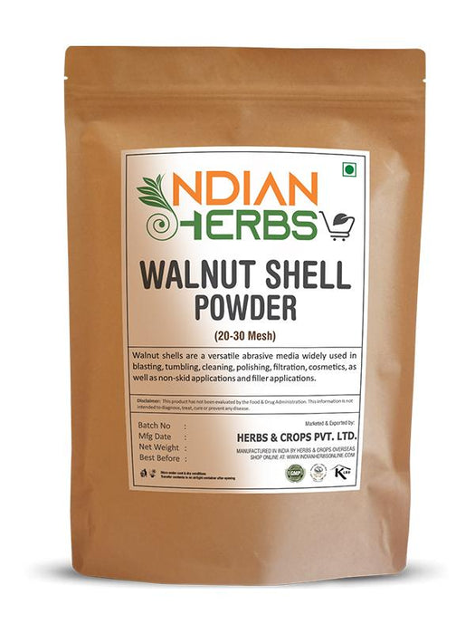 Buy Online Walnut Shell Powder for Skin & Hair (20-30 Mesh)