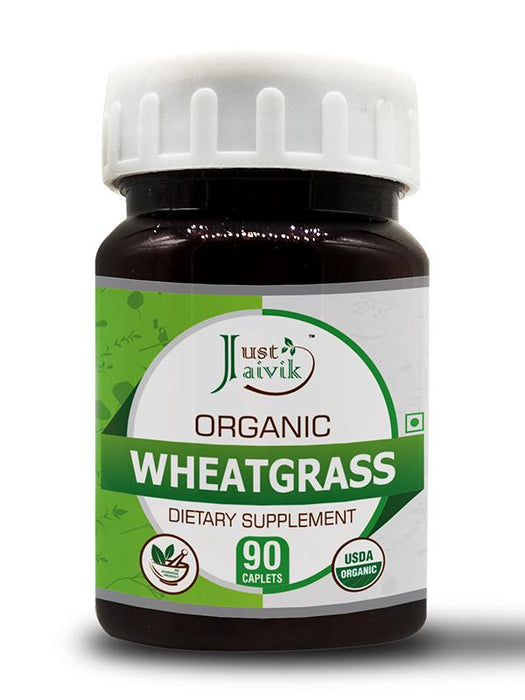 Organic Wheatgrass Tablets 750 mg - Dietary Supplements - (90 Tablets)