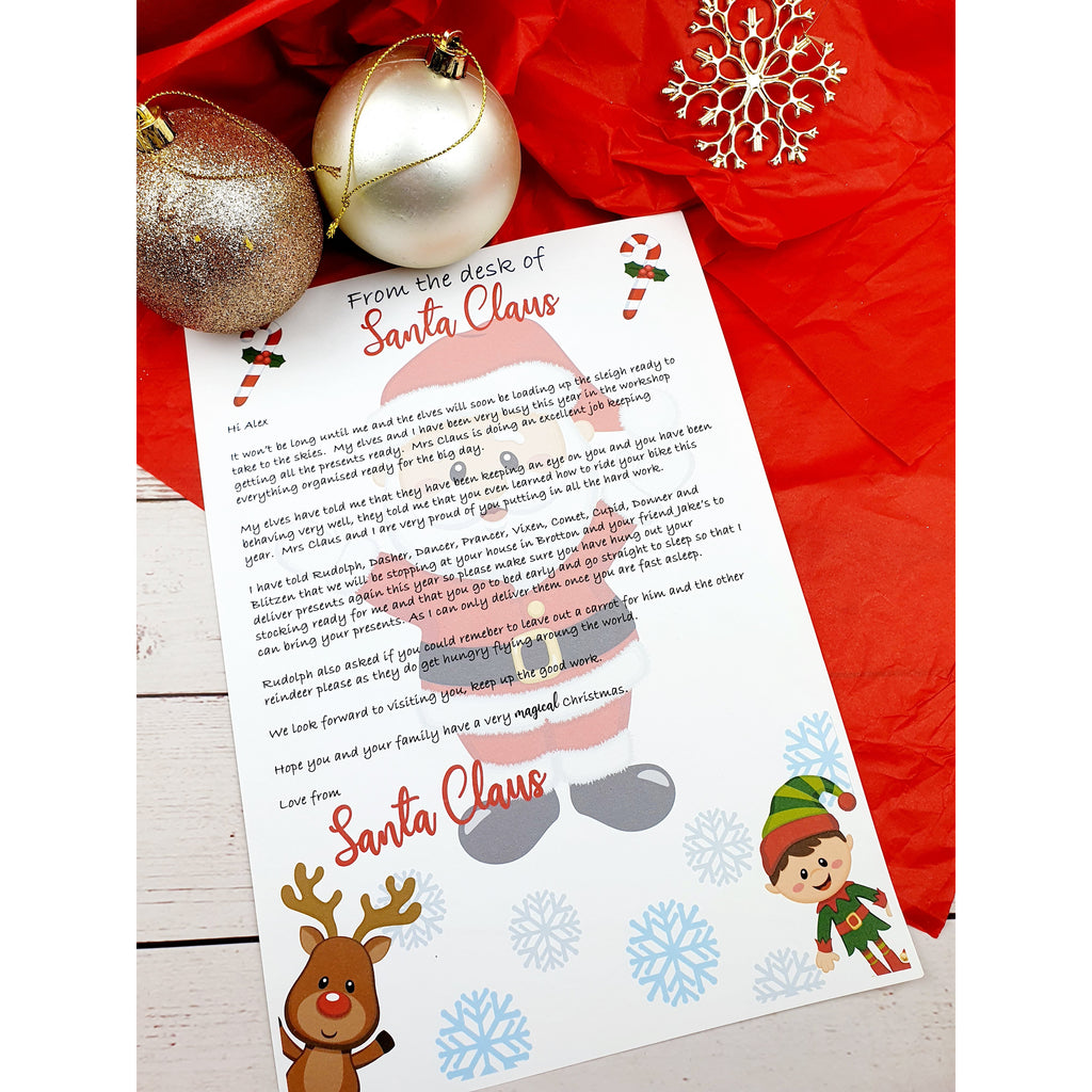 Letter From Santa - Sweet Tooth Sweet Treats