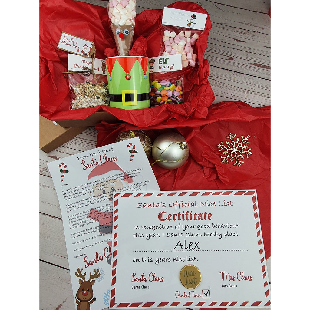 Letter From Santa and Certificate - Sweet Tooth Sweet Treats
