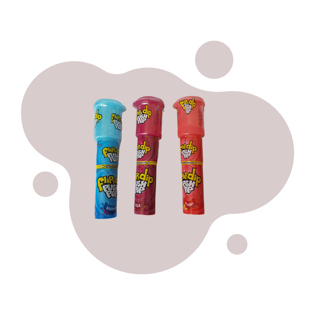 Flip and Dip Push Pop - Sweet Tooth Sweet Treats