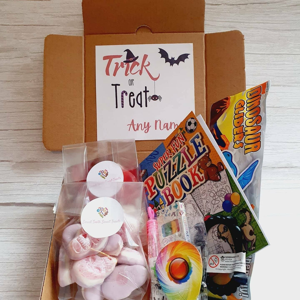 Small Kids Halloween Pick 'n' Mix Box - Sweet Tooth Sweet Treats