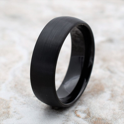 Men Tungsten Wedding Band