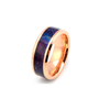 Professor Woodwork - Tungsten Elder Wood Wedding Band