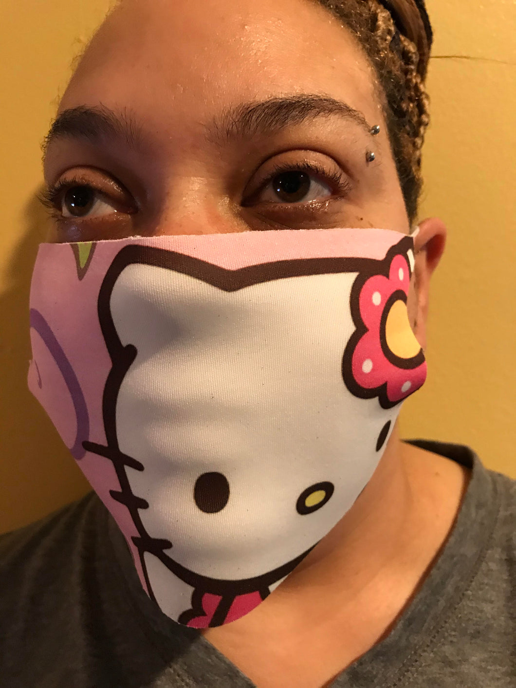 Hello Kitty Protective Fashion Mask Pink