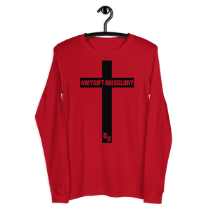 My Gift 4 His Glory Unisex Long Sleeve Tee (BF)