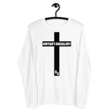 Load image into Gallery viewer, My Gift 4 His Glory Unisex Long Sleeve Tee (BF)