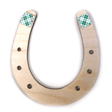 Laser-Engraved Lucky Horseshoes