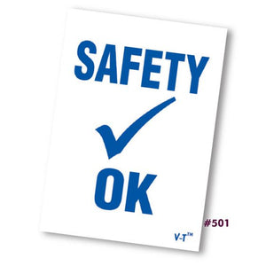 Safety Inspection Stickers #501