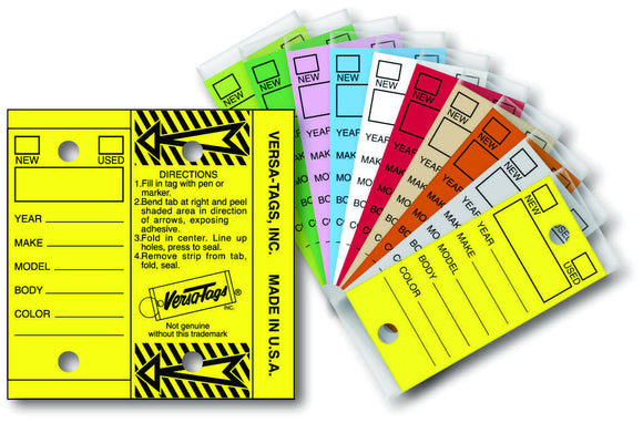 Self-Laminating Key Tags