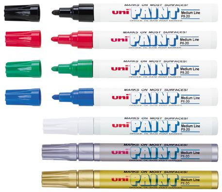 Uni-Paint Medium Line Paint Markers (#PX20)
