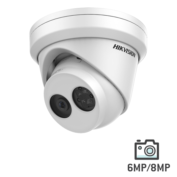 Hikvision WDR Network Turret Camera