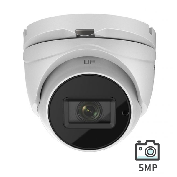 Hikvision HD Analog Turbo 5MP Vari Focal Turret Camera