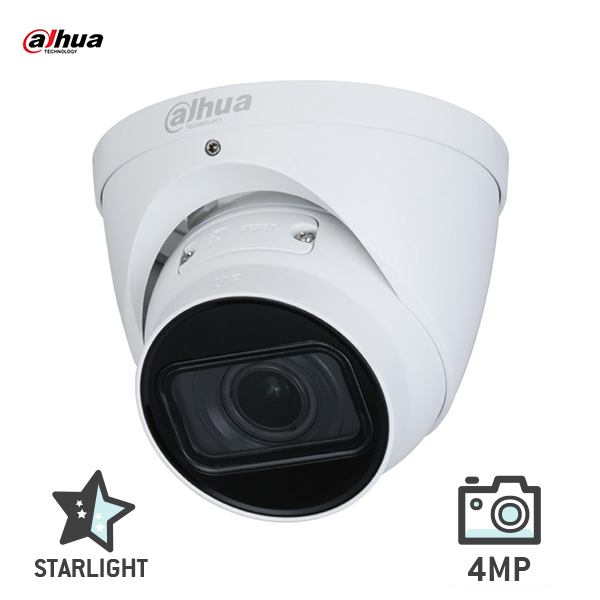 Dahua DH-IPC-HDW2431T-ZS-S2 4MP Starlight Eyeball Motorised Network Camera