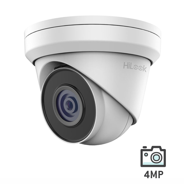 HiLook 4 MP Network IR Turret Camera