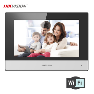 Hikvision KH6320-WTE1 Video Intercom 7-Inch Touch Screen Indoor Room Station with Wifi