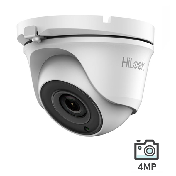 HiLook HD Analog Turbo 4MP Turret Camera 20M IR
