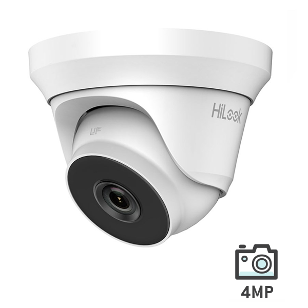 HiLook HD Analog Turbo 4MP Turret Camera