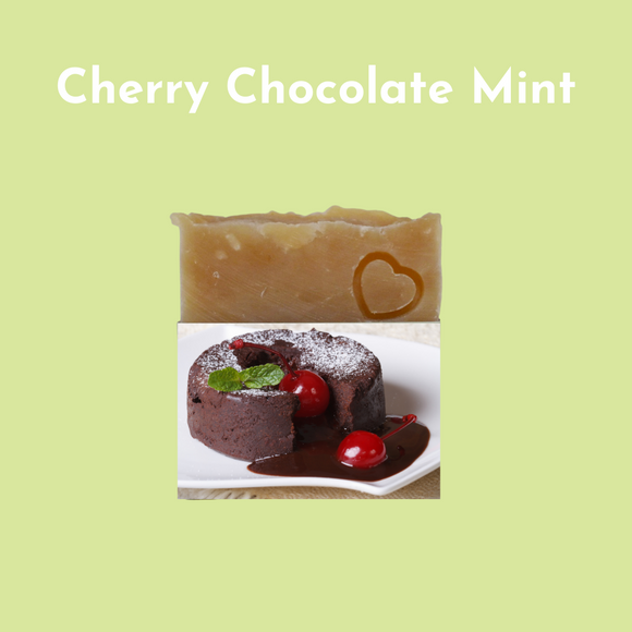 Cherry Chocolate Mint Soap