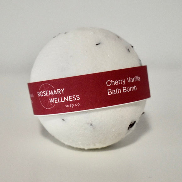 Cherry Vanilla Bath Bomb