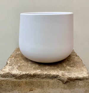 White Pot Cover