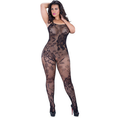 Black Lace One Piece