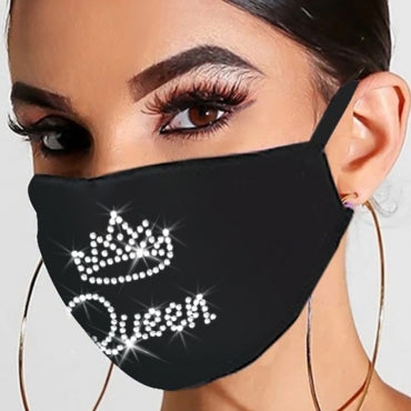The Queen Bling Face Mask
