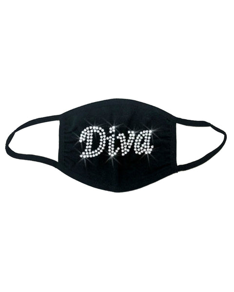 The Diva Bling Face Mask