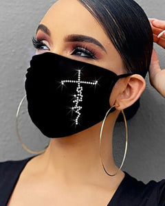 The Faith Bling Face Mask