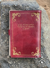 "Load image into Gallery viewer, ""Bardic Inspiration"" Medium Notebook Cover"
