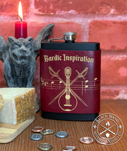 "Load image into Gallery viewer, ""Bardic Inspiration"" Flask"