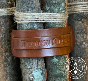 Dungeon Master's Leather Wrist Cuff