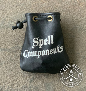 """Spell Components"" Dice Bag"