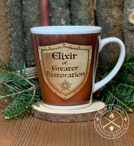 """Elixir of Greater Restoration"" mug"