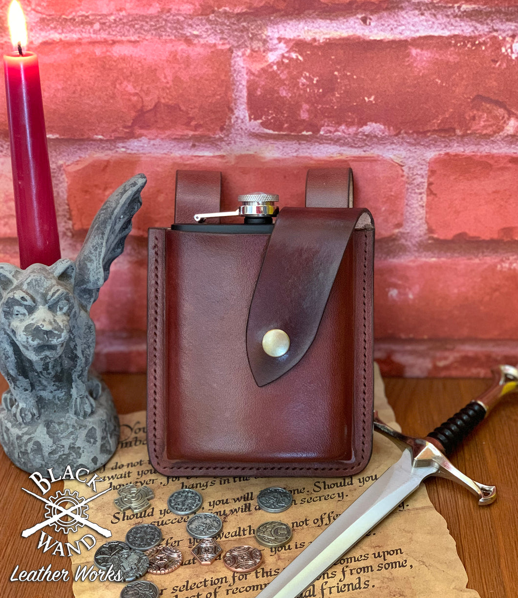 Leather Flask Holster