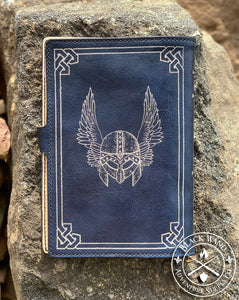 """Path of the Paladin"" Medium Notebook Cover"