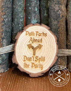 Don't Split the Party Coaster