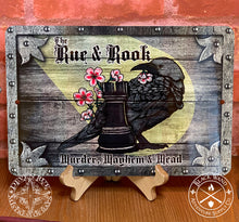 Load image into Gallery viewer, The Rue & Rook metal sign