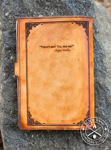 """Thieve's Guild Handbook"" Medium Notebook Cover"