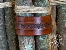 Load image into Gallery viewer, Barbarian's Leather Wrist Cuff