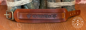 Barbarian's Leather Wrist Cuff