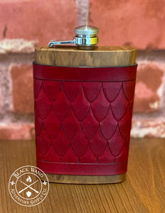Dragon Scale Flask